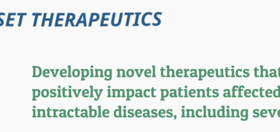 Kinaset Therapeutics Launches with a $40M Series A Financing to Develop Novel Therapeutics for Respiratory Diseases and an Exclusive Global License Agreement with Vectura Group for KN-002 (VR588), a Novel Anti-Inflammatory