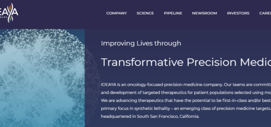 IDEAYA Announces Dosing of First Patient of MAT2A Inhibitor IDE397 in Phase 1 Clinical Trial Evaluating MTAP-Deletion Solid Tumors
